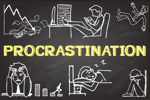 procrastination - obsession addict