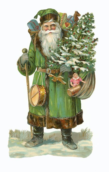 saint nicolas - pere noel - vert - oa - obsession addict