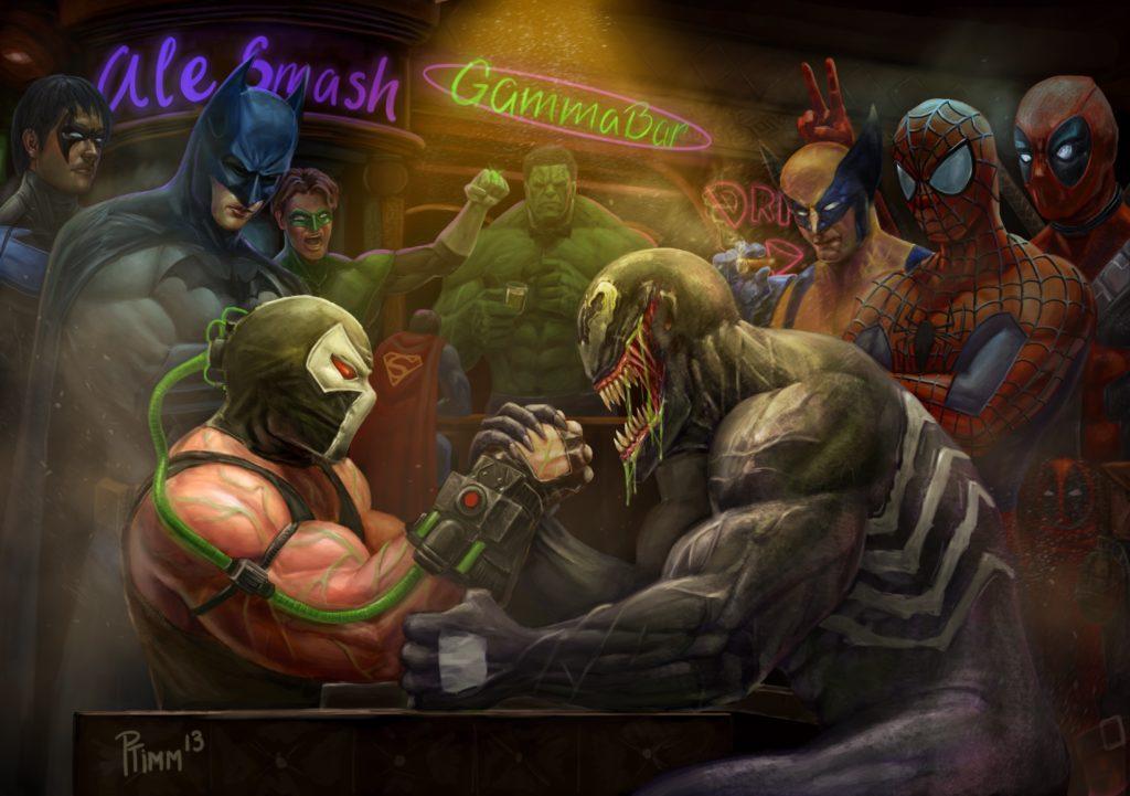 Bane-Marvel-super-heros-accro-drogues-oa-obsession-addict