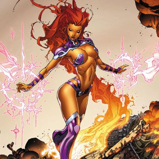 Starfire-super-heros-accro-drogues-oa-obsession-addict