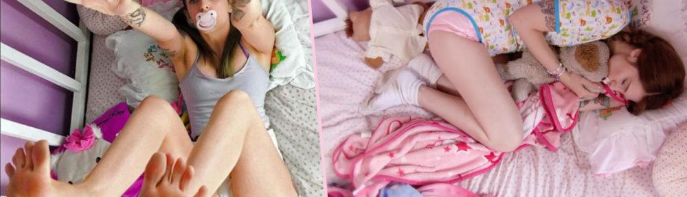 L'autonepiophilie, véritable fantasme de vivre en couche comme un bébé - obsession addict - 2