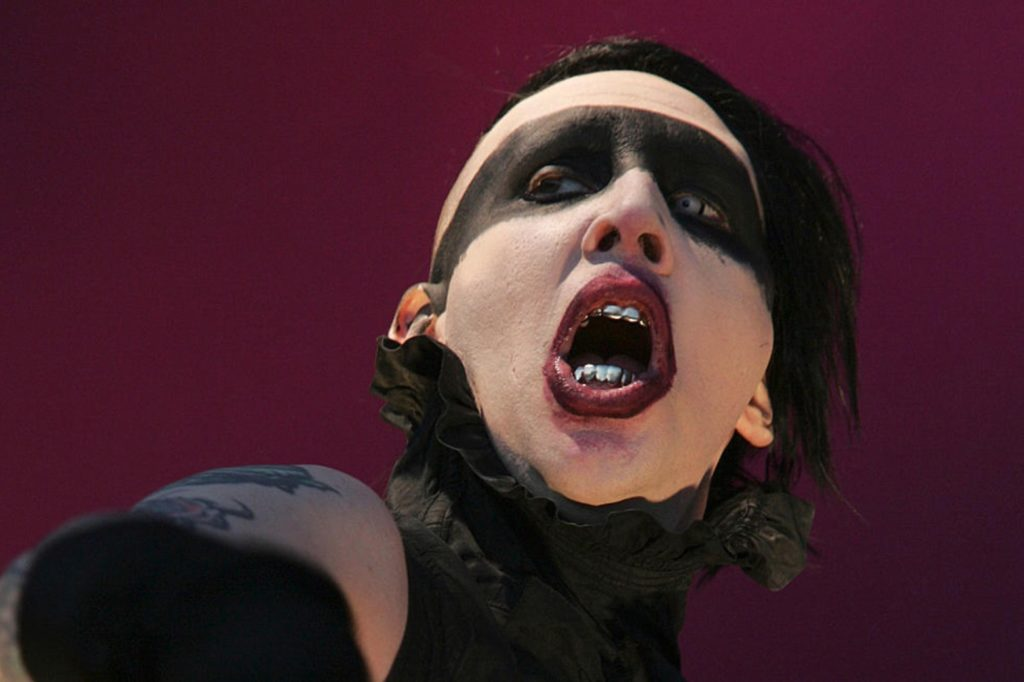 marilyn manson - phobies de Rock Stars-obsession addict